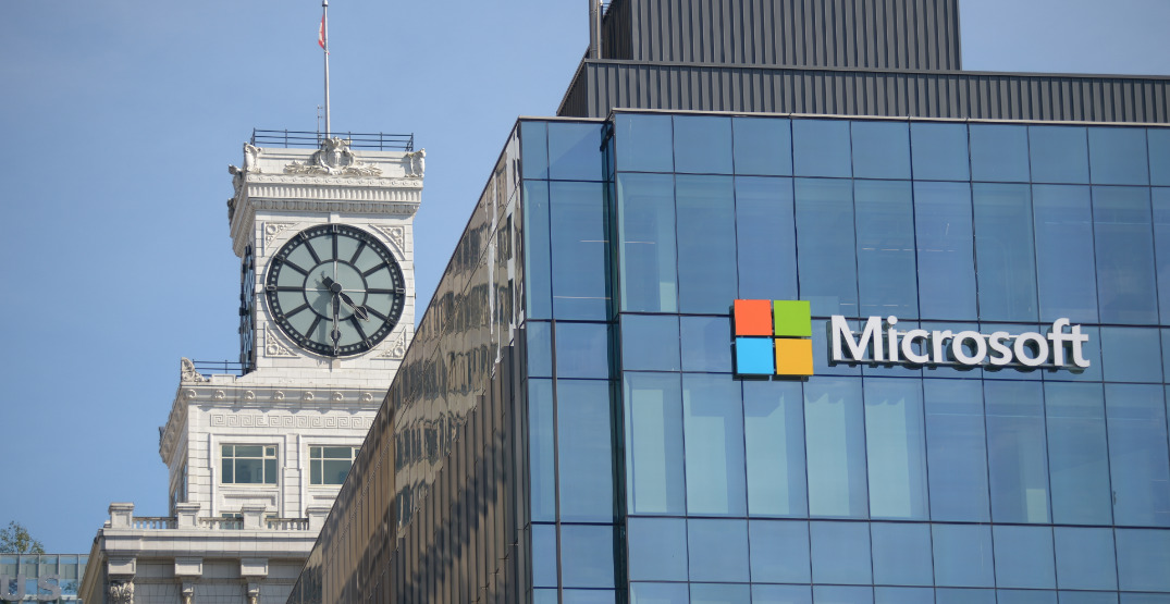 Microsoft takes over Mobify's former office above Nordstrom in Vancouver