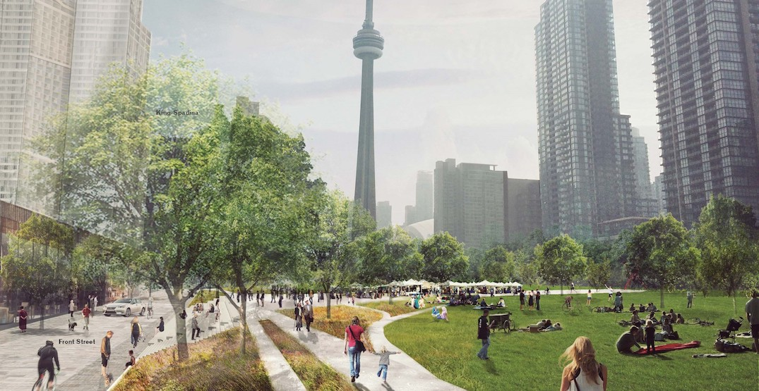 Thousands signing petition to save Toronto's proposed Rail Deck Park