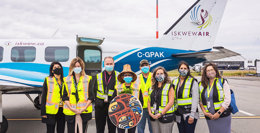 Indigenous woman-owned Iskwew Air launches service between Qualicum Beach and YVR