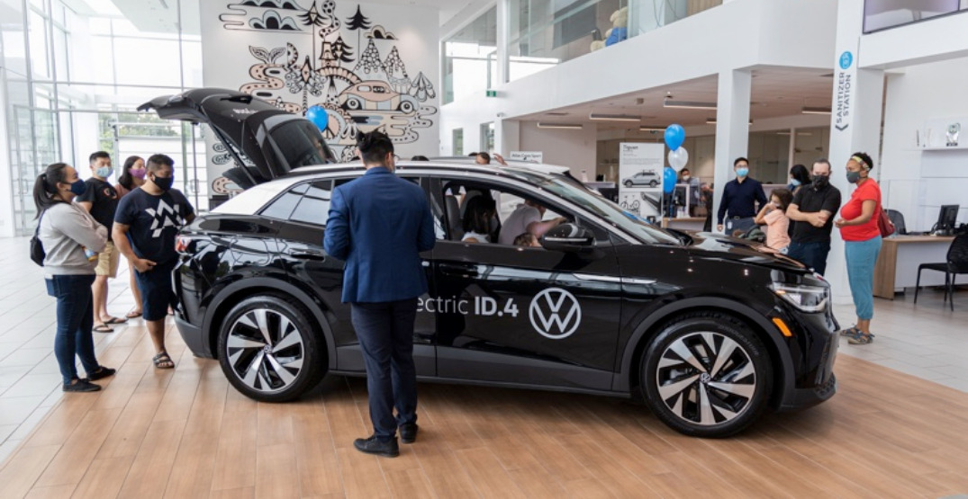 Unprecedented demand in BC as Volkswagen reveals first fully electric car (PHOTOS)