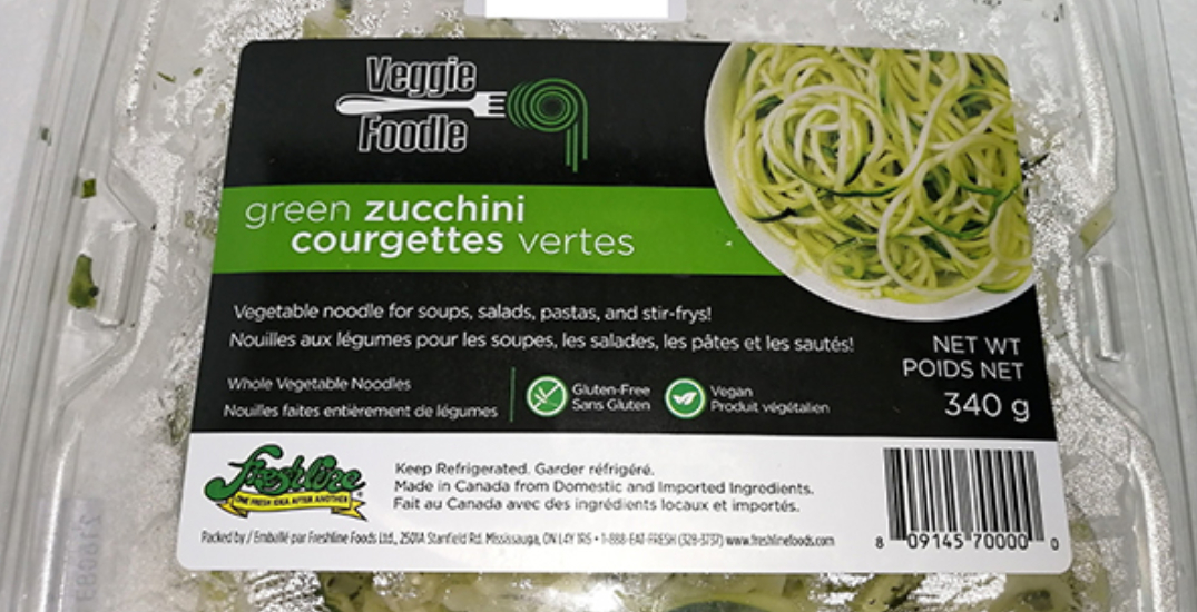 Brand of zucchini noodles recalled over possible Listeria contamination