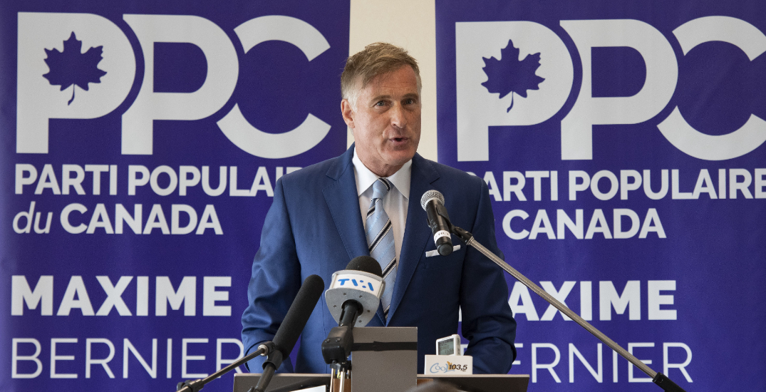 People's Party of Canada, Maverick Party left out of federal leaders' debate