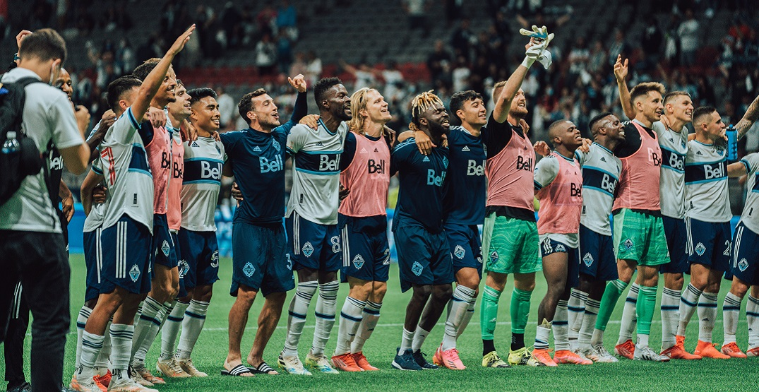 Whitecaps share heartwarming moment with supporters in return to Vancouver (VIDEO)