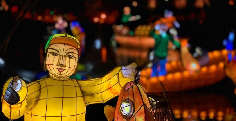 Montreal's spectacular illuminated lantern festival is returning next month