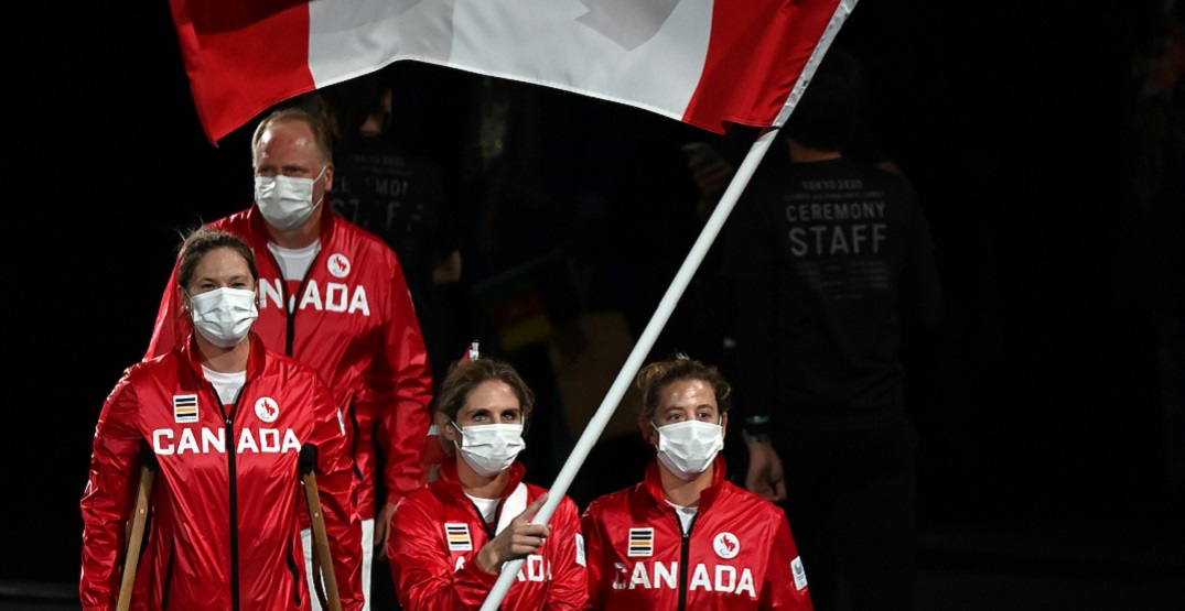 Small athlete contingent represents Canada at Paralympic Opening Ceremonies (PHOTOS)