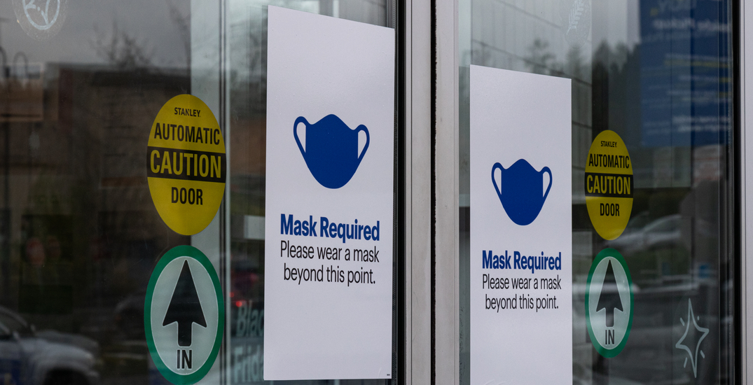 BC reintroduces mandatory mask policy across all indoor spaces