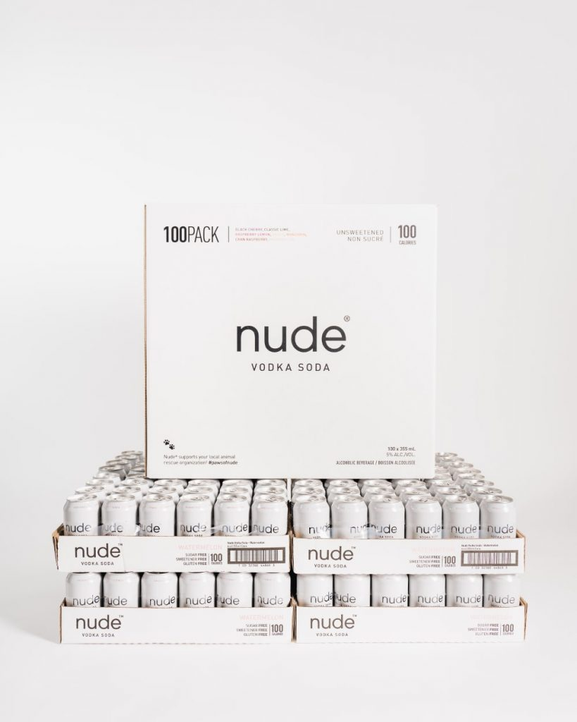 Nude Vodka 100-Pack