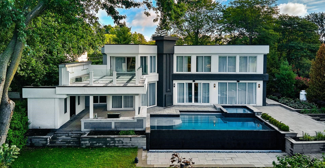 A look inside: $3.7M modern waterfront home in Laval (PHOTOS)