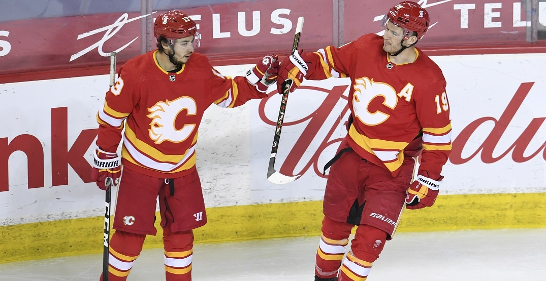 Here's what the Calgary Flames lines could look like for opening night