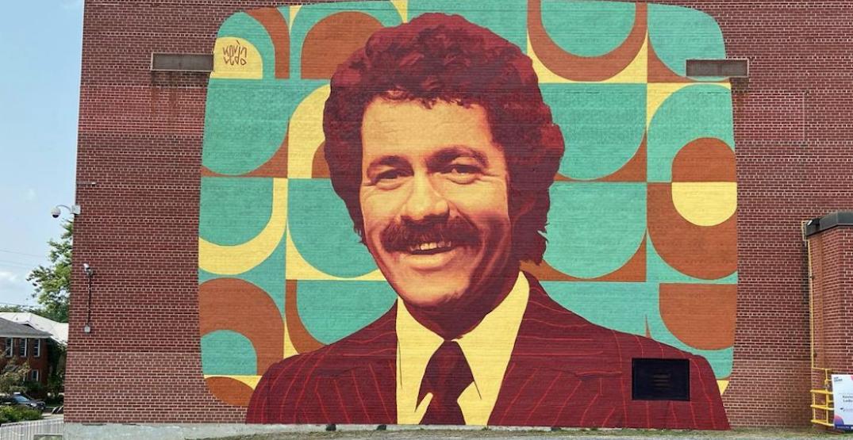 Ontario town honours 'Jeopardy!' host Alex Trebek with retro mural