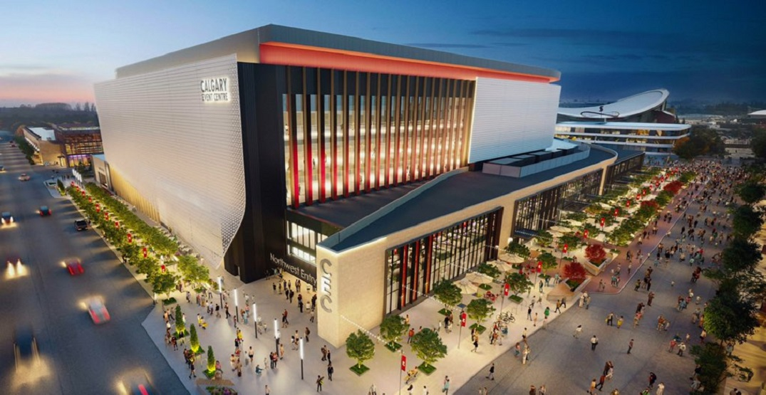 Flames fans aren't loving the look of new Calgary arena (PHOTOS)