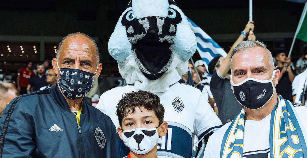 Masks now mandatory while watching games at BC Place