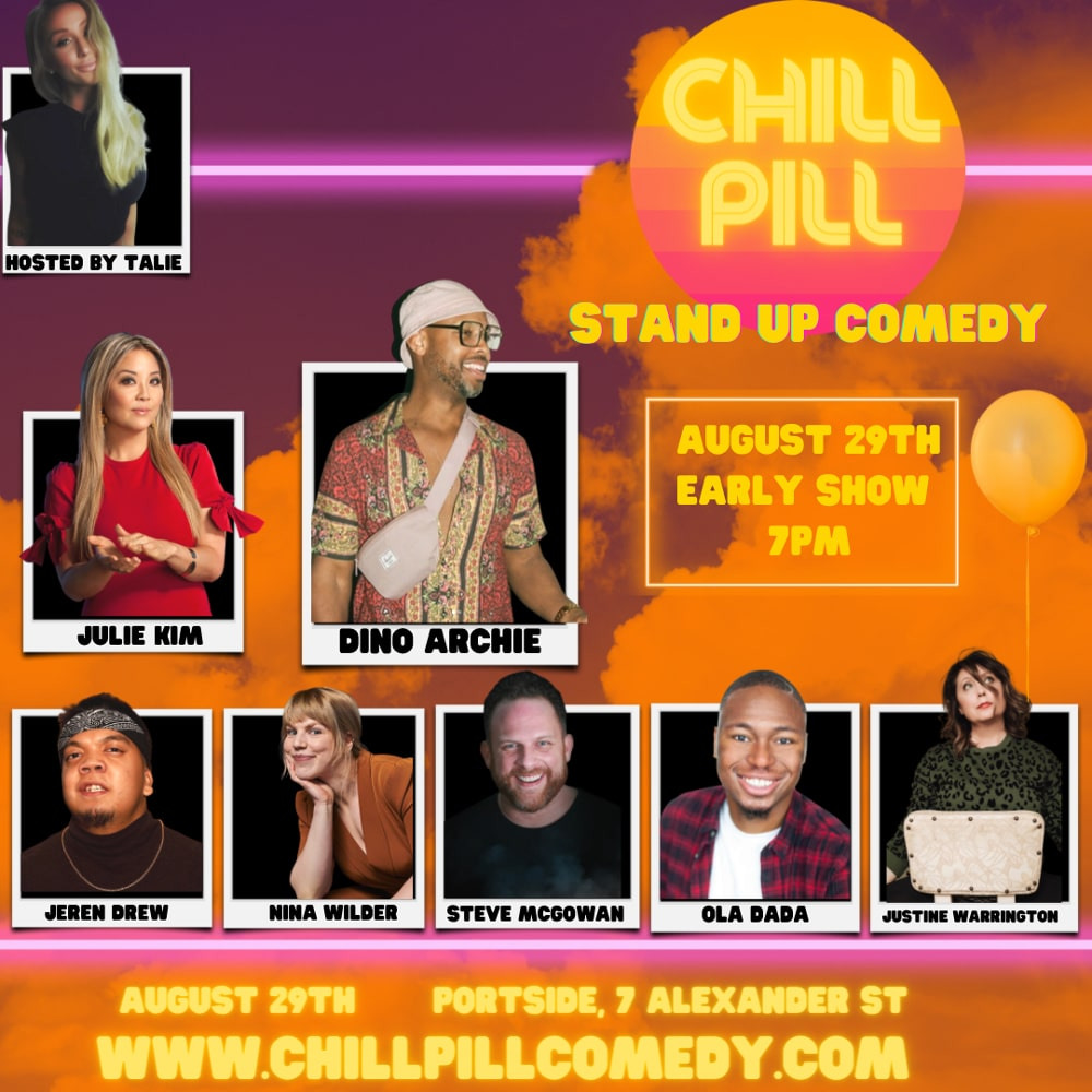 Chill Pill Comedy early show