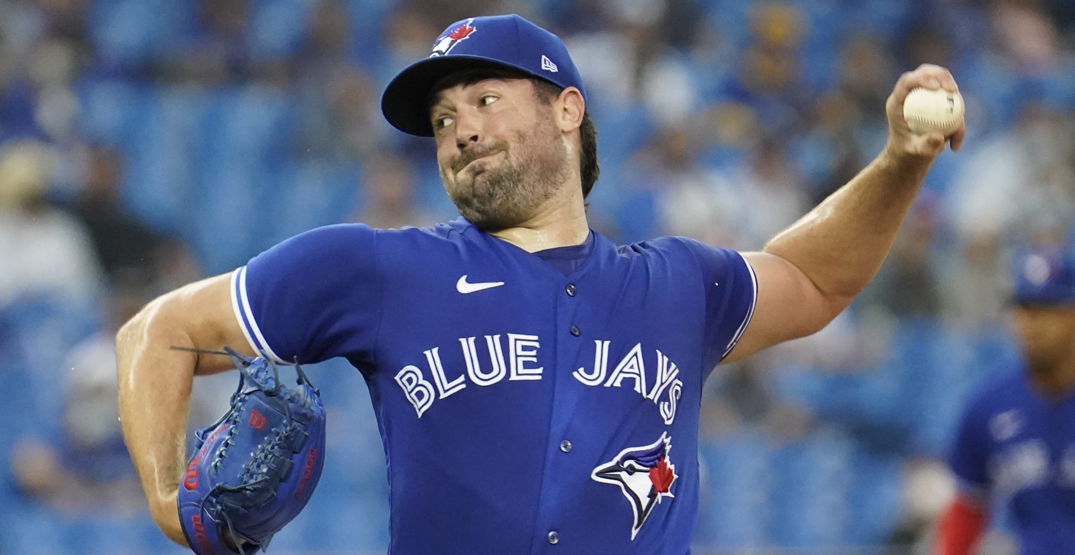 Robbie Ray joins exclusive Blue Jays club with 14K game