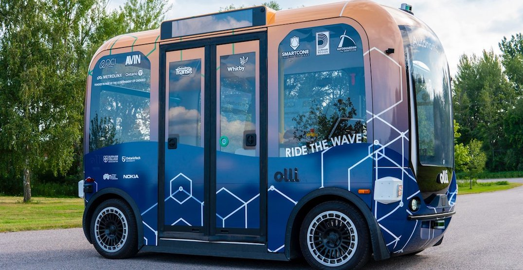 A GTA town is getting a self-driving shuttle bus later this year