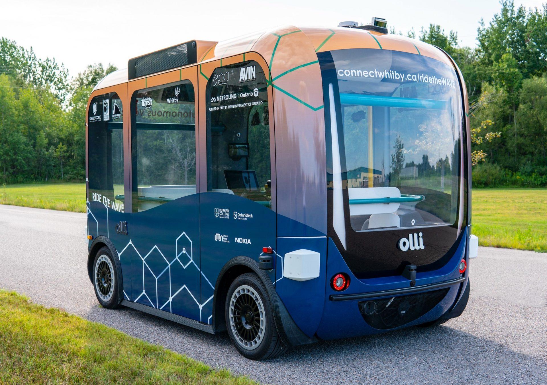 gta durham self-driving shuttle bus