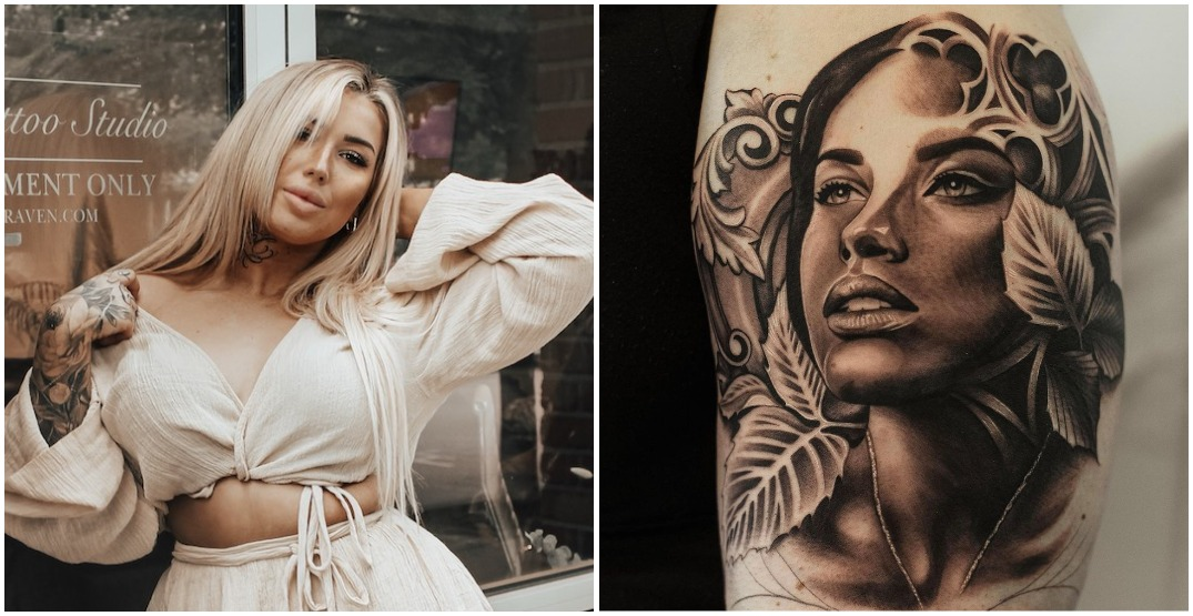 This female tattoo artist is making her mark in a male-dominated field