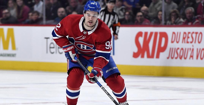 """He's in good shape"": Canadiens coach Ducharme updates Drouin's status"