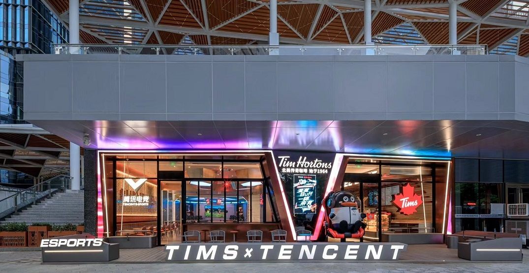 Tim Hortons opens up impressive esports cafe in China (PHOTOS)