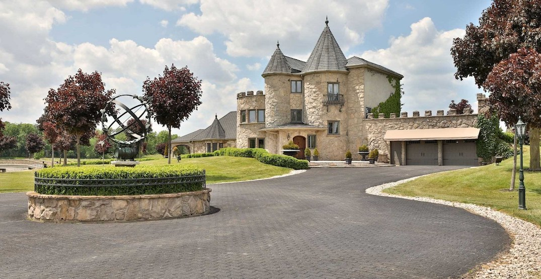 Ontario castle with its own winery on the market for $5.9 million