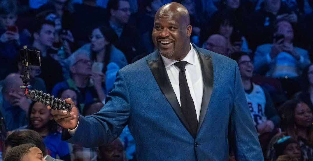 """Shaquille O'Neal says Toronto women are """"off the chain"""""""