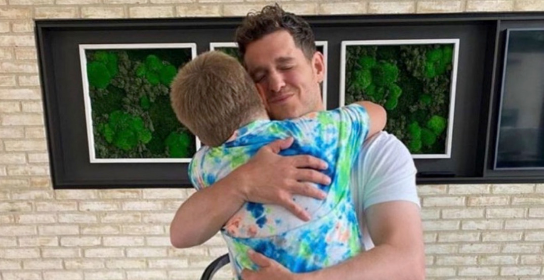 Michael Bublé celebrates eighth birthday of son who battled cancer