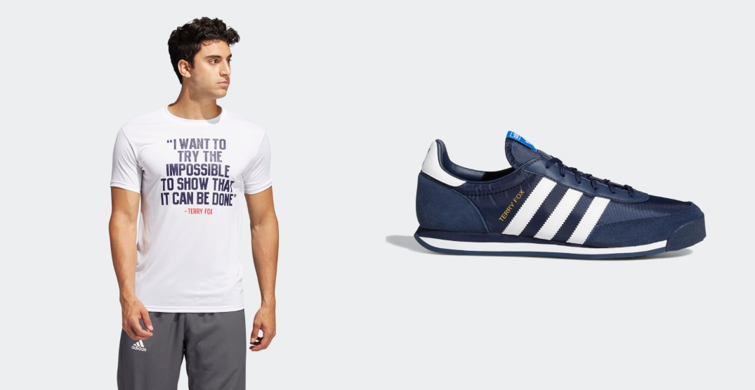 Adidas relaunches super popular Terry Fox Collection in support of cancer research