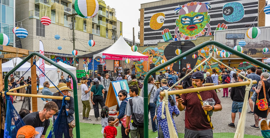 Vancouver Mural Fest takes over Granville Promenade this weekend for encore celebration
