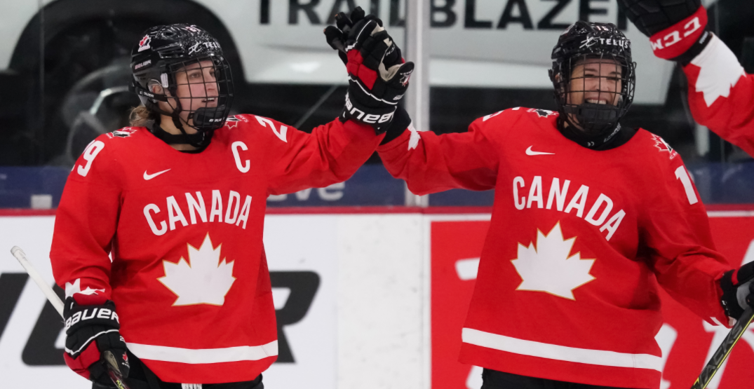 Canada to play US tonight for women's world hockey gold medal