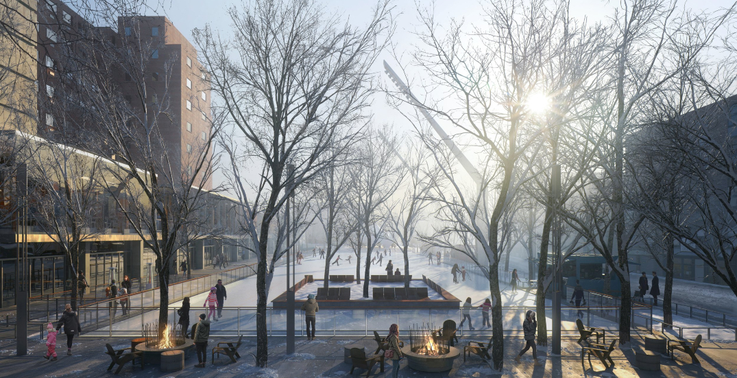 New giant ice skating rink coming to the Quartier des Spectacles (RENDERINGS)
