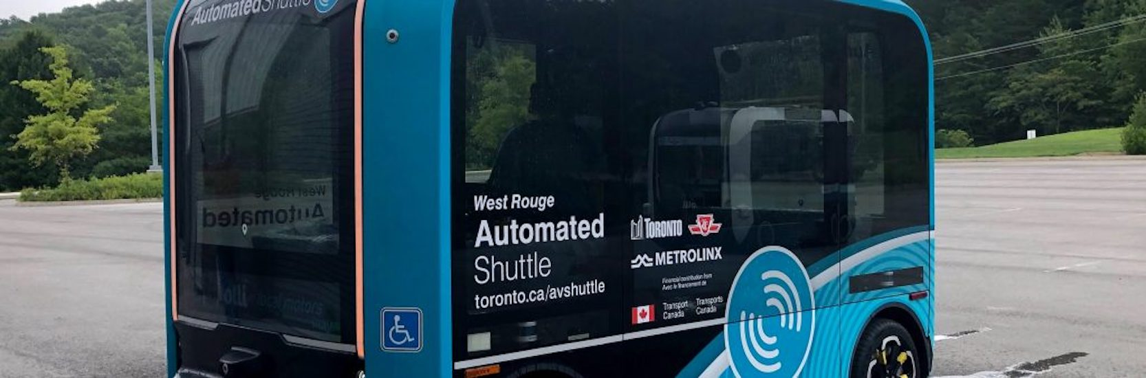 Toronto's new self-driving shuttle bus hits the road this month