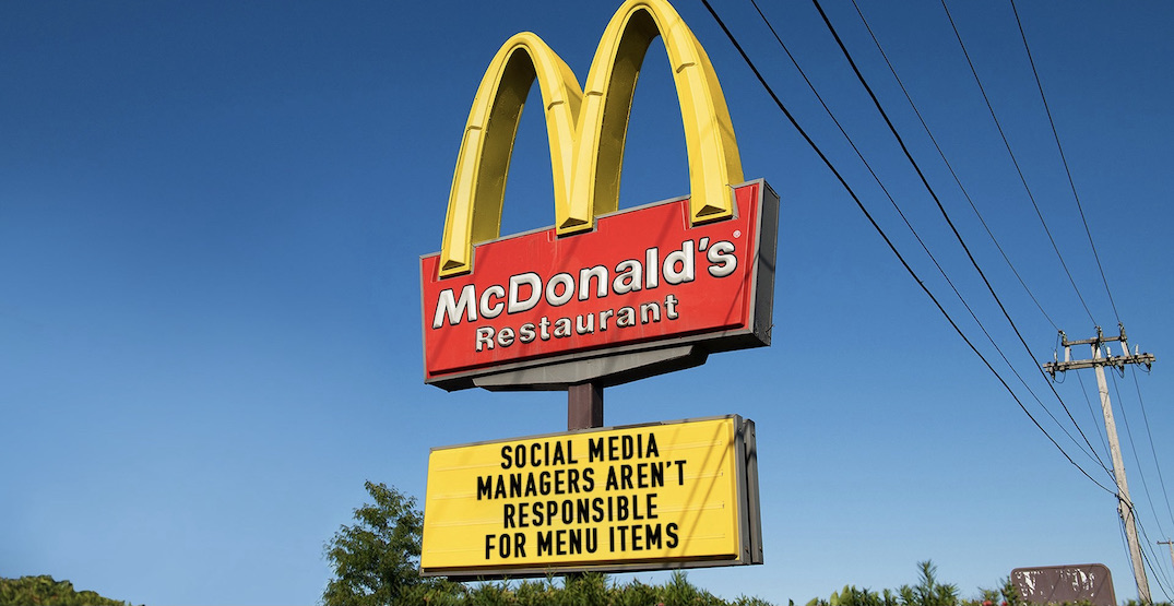 Social media is reacting to McDonald's new menu item and it's priceless