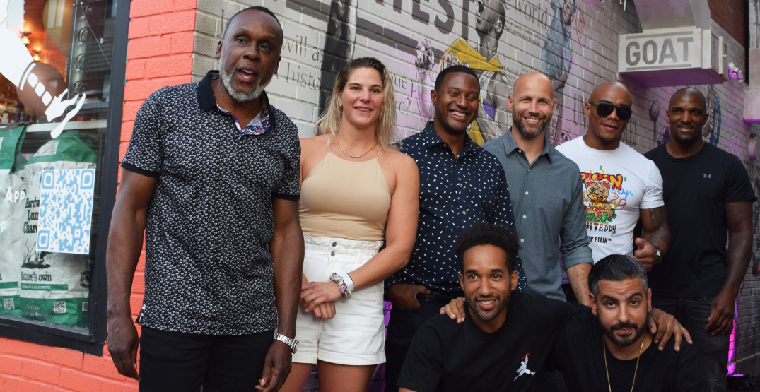 Montreal sports-themed restaurant hosts star-studded launch party
