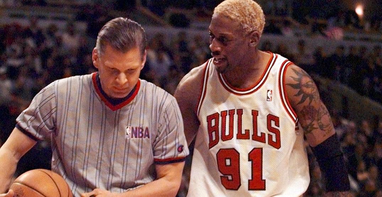 Dennis Rodman's infamous mid-season Vegas trip is getting its own film