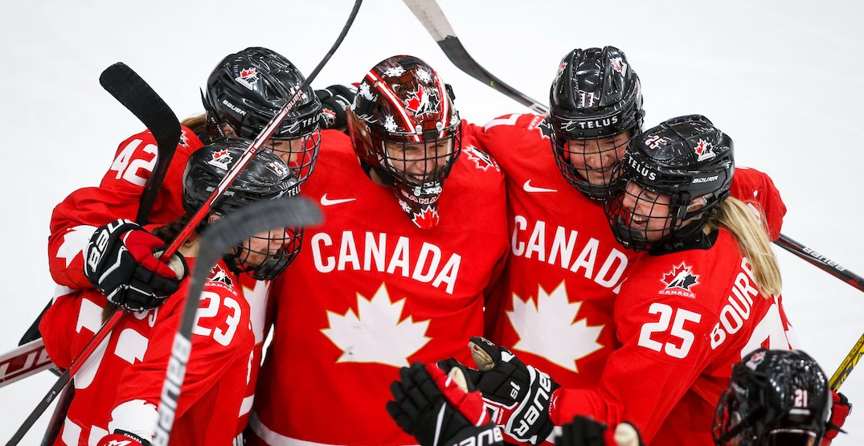Canada beats USA in OT to win Women's World Hockey Championship gold
