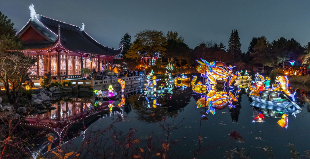 Montreal's spectacular illuminated lantern festival is returning this month