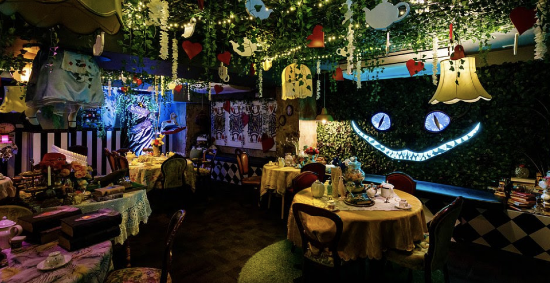 """A boozy """"Alice in Wonderland"""" tea party is coming to Calgary this winter"""