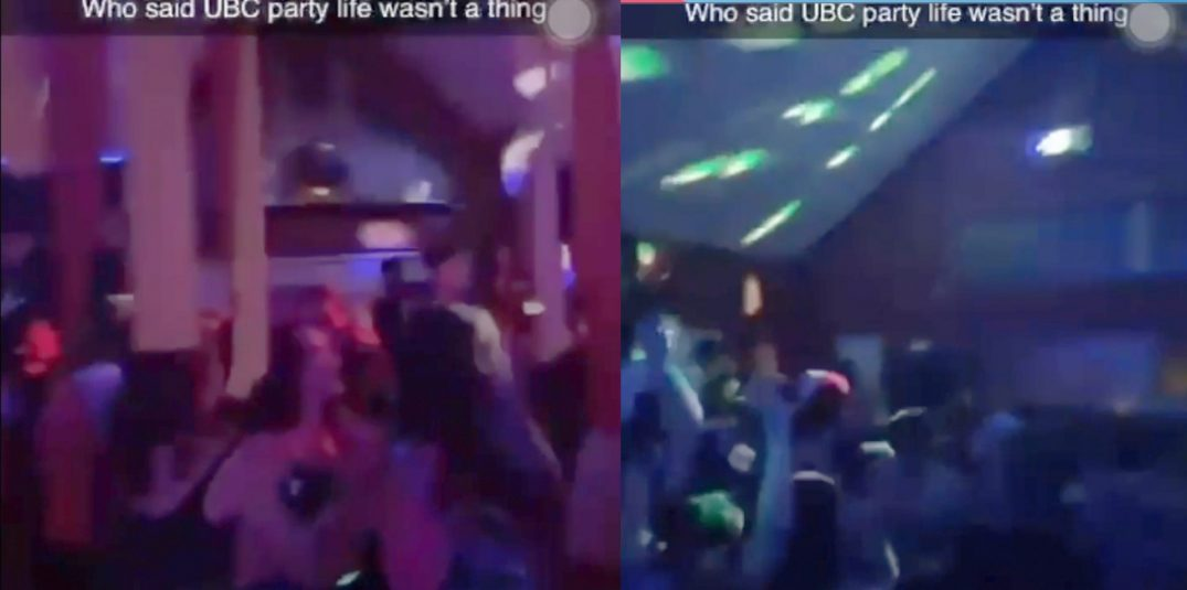 RCMP shut down a massive UBC frat party with hundreds of attendees (VIDEO)