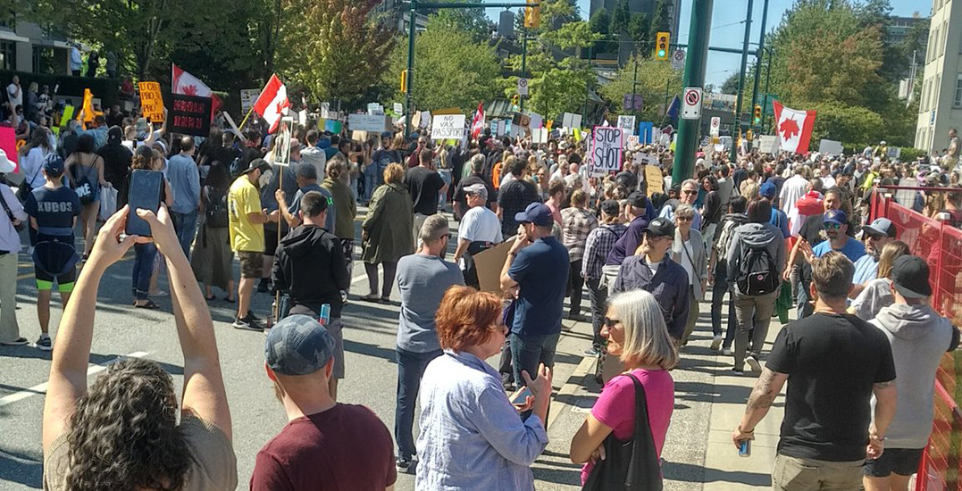 Graphic anti-vaccine march planned in Vancouver