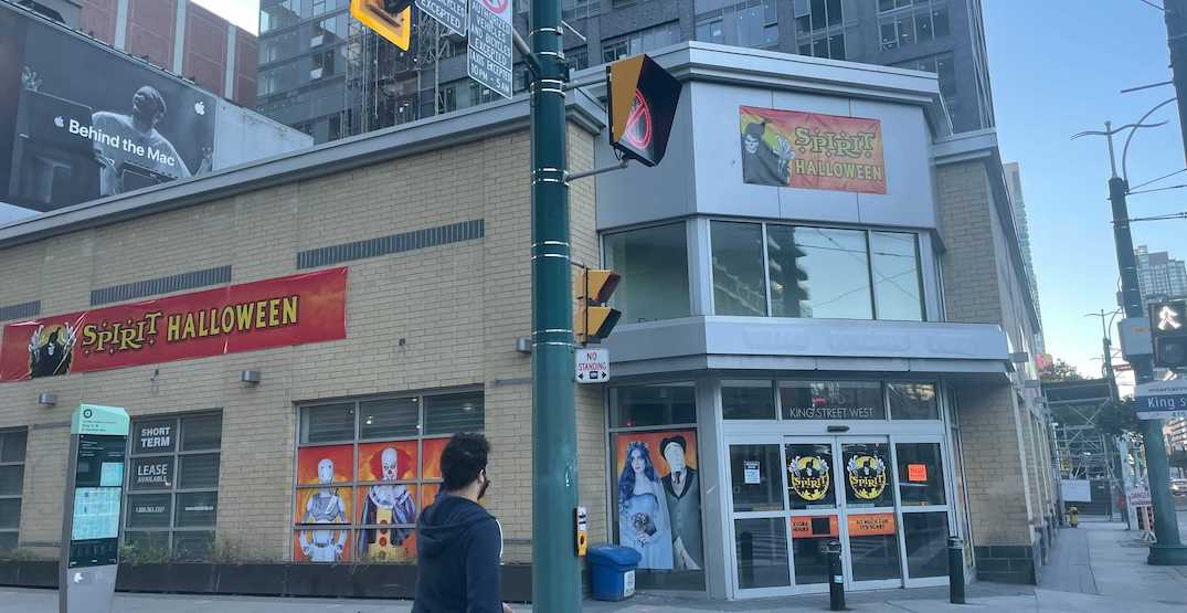 Huge Halloween store to open at old LCBO location in downtown Toronto