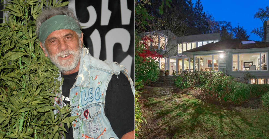 Tommy Chong's house is for sale, and you could own it for under $6-million (VIDEO)