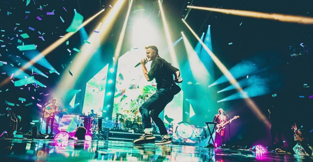 Imagine Dragons are performing at Montreal's Bell Centre this winter