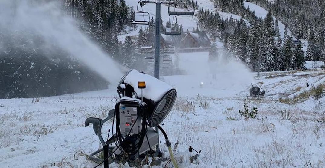 Cypress Mountain undergoing major snowmaking system expansion
