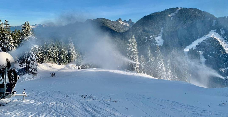 cypress mountain snowmaking