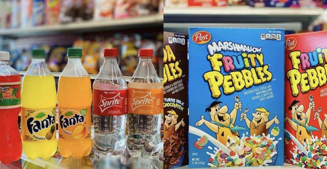 Shop hard-to-find snacks and sodas at this Calgary convenience store