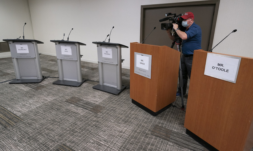 Tonight's French debate, Thursday's English debate pivotal for federal leaders