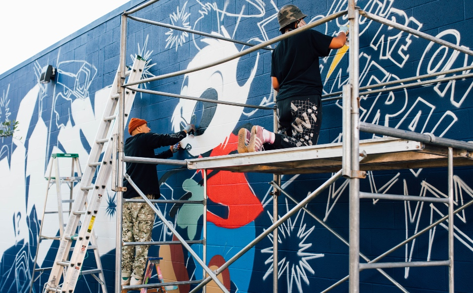 There are five new murals coming to Edmonton and you can see them at this event