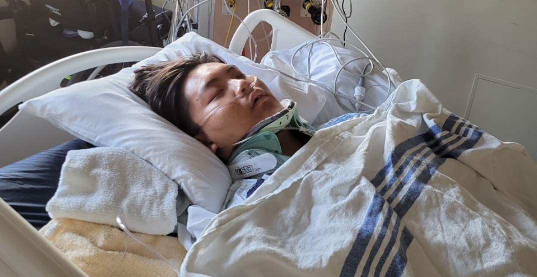 Donations pour in after 21-year-old gravely injured in Whistler bike accident
