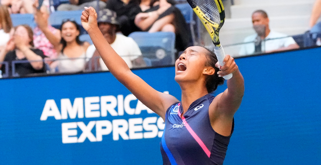 Leylah Fernandez is about to skyrocket up the world tennis rankings
