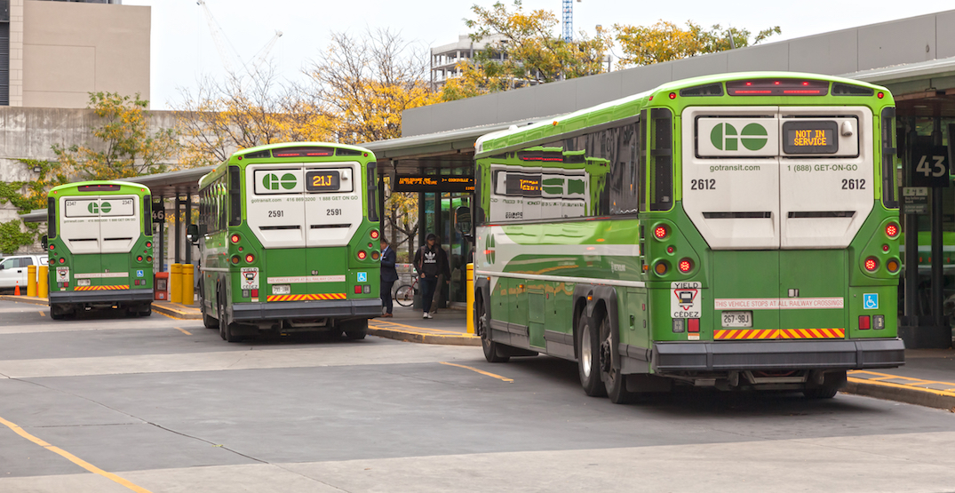 GO buses may soon be getting 15-minute service on major routes